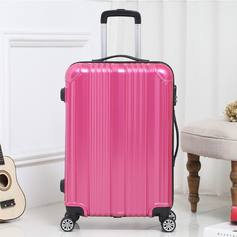 LEINASEN Rolling Luggage Spinner Wheels Suitcase Trolley Men ABS+PC Travel bag Trunk Student Password box Women Carry On Luggage 2024inch universal wheels luggage abs mute rolling travel bag password lock trolley suitcase colorful hand pull box