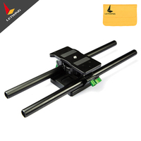 Lanparte Quick Release Baseplate Base Plate Camera Tripod Mount for 15mm Rails DSLR Rig