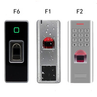 Metal Waterproof out door use IP66 fingerprint biometric reader access controller rfid 125khz card & password