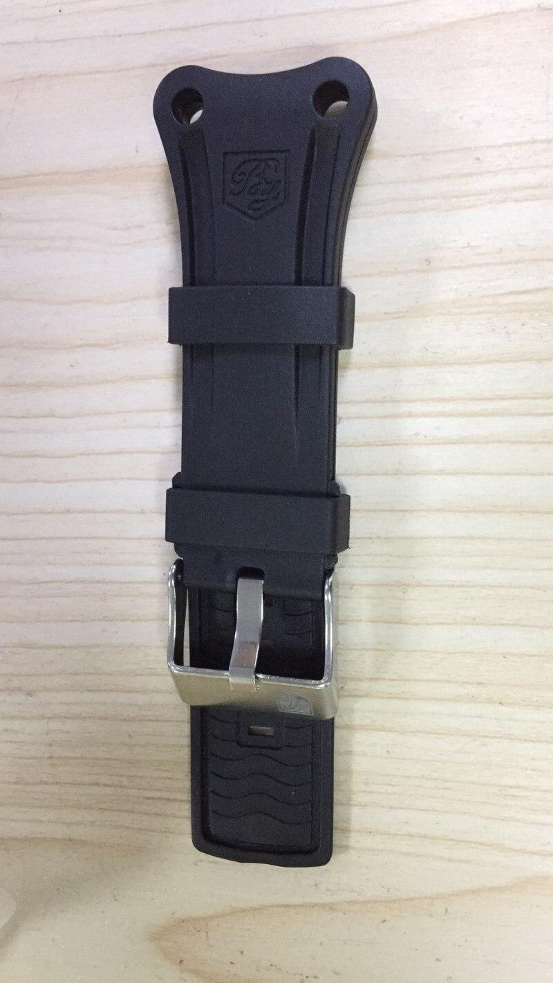 8b50aaf84f8ce Benyar reloj Correa 22mm Universal correa de cuero pulsera correa de silicona  reloj en Correas de reloj de Relojes en AliExpress.com