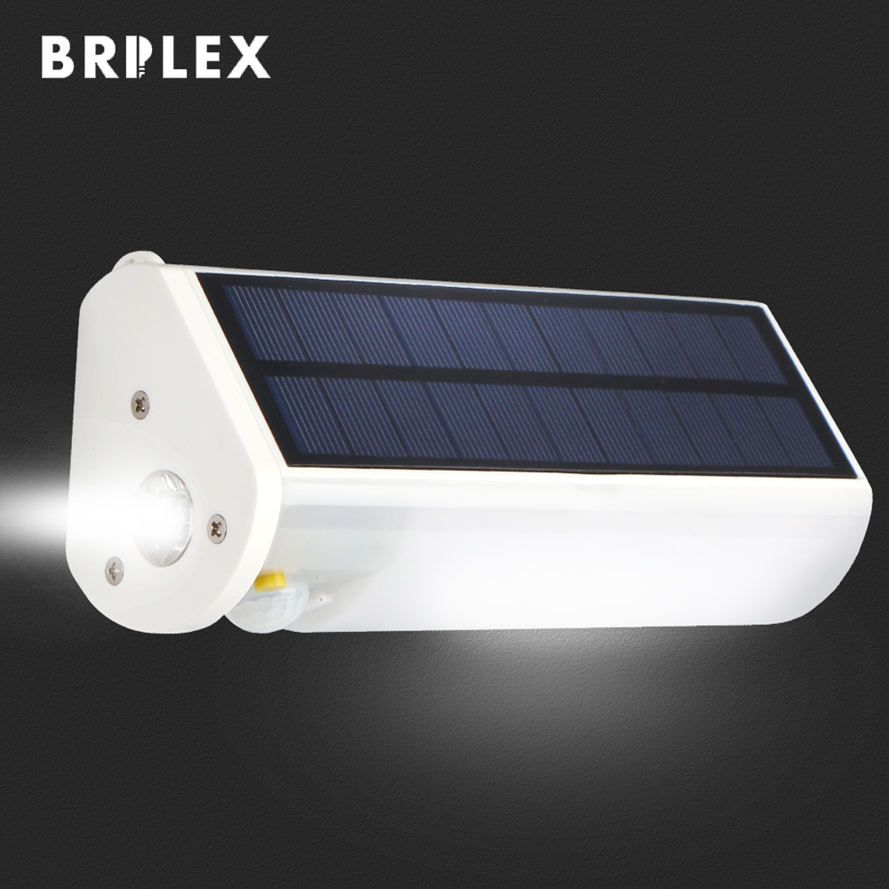 BRILEX Solar Lamp Outdoors Rechargeable Solar Lamp Magnetic and Smart Sensor Automatic On Off for Camping Driving Hiking etc in Solar Lamps from Lights Lighting