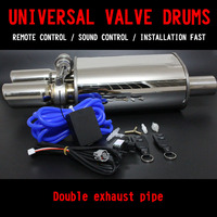 Universal Stainless Steel 2 5 Exhaust Pipe Electric Pipe Exhaust Electrical Cutout With Remote Control Wholesale