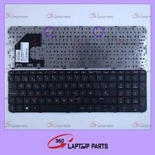 Teclado del ordenador portátil para HP Ultrabook 15 15-B 15-b000 15-b100-15 15T-B 15t-b100 15t-b000 15Z-B 15-B058SR con marco SP teclado