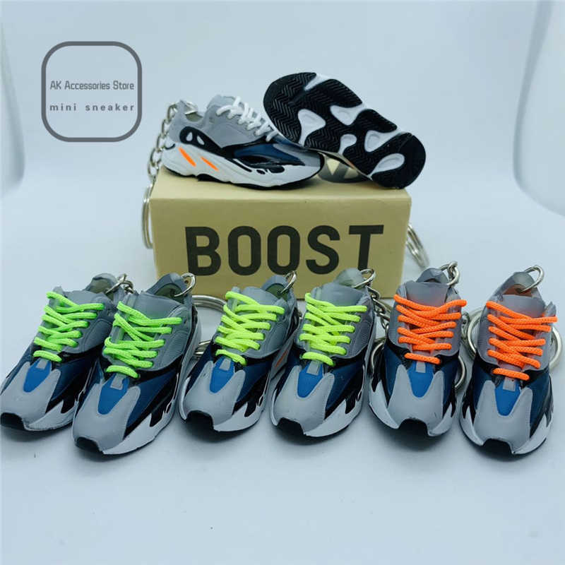 coconut 700 personality creative pendant keychain 3d sneaker stereo basketball shoe model car key chain couple Christmas gift