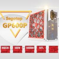 Segotep 500W GP600P ATX PC Computer Power Supply Desktop Gaming PSU 80Plus Platinum Active PFC DC