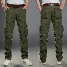 Мужские брюки-карго, армейские, военные, хлопковые, много карманов, тянущиеся, эластичные, мужские, повседневные брюки размера плюс 28-38, 40