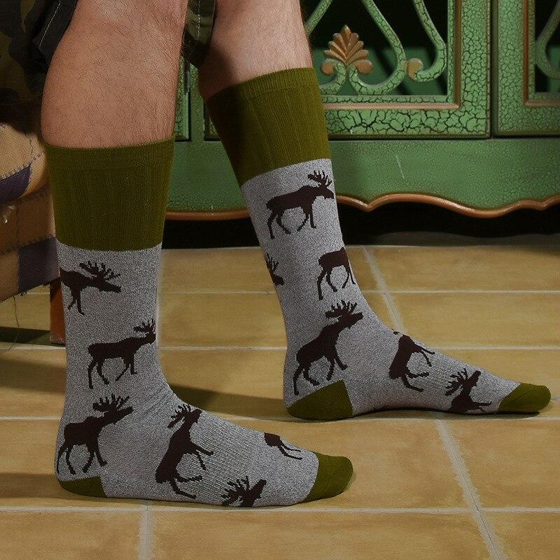 2019 <font><b>Socks</b></font> for <font><b>Men</b></font> Tide <font><b>Men's</b></font> <font><b>Socks</b></font> <font><b>Socks</b></font> Barefoot Deer Fox <font><b>Socks</b></font>