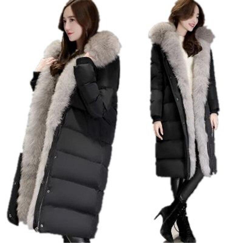 Korea Style 2017 New Winter font b Women b font Coat Warm Super Large font b