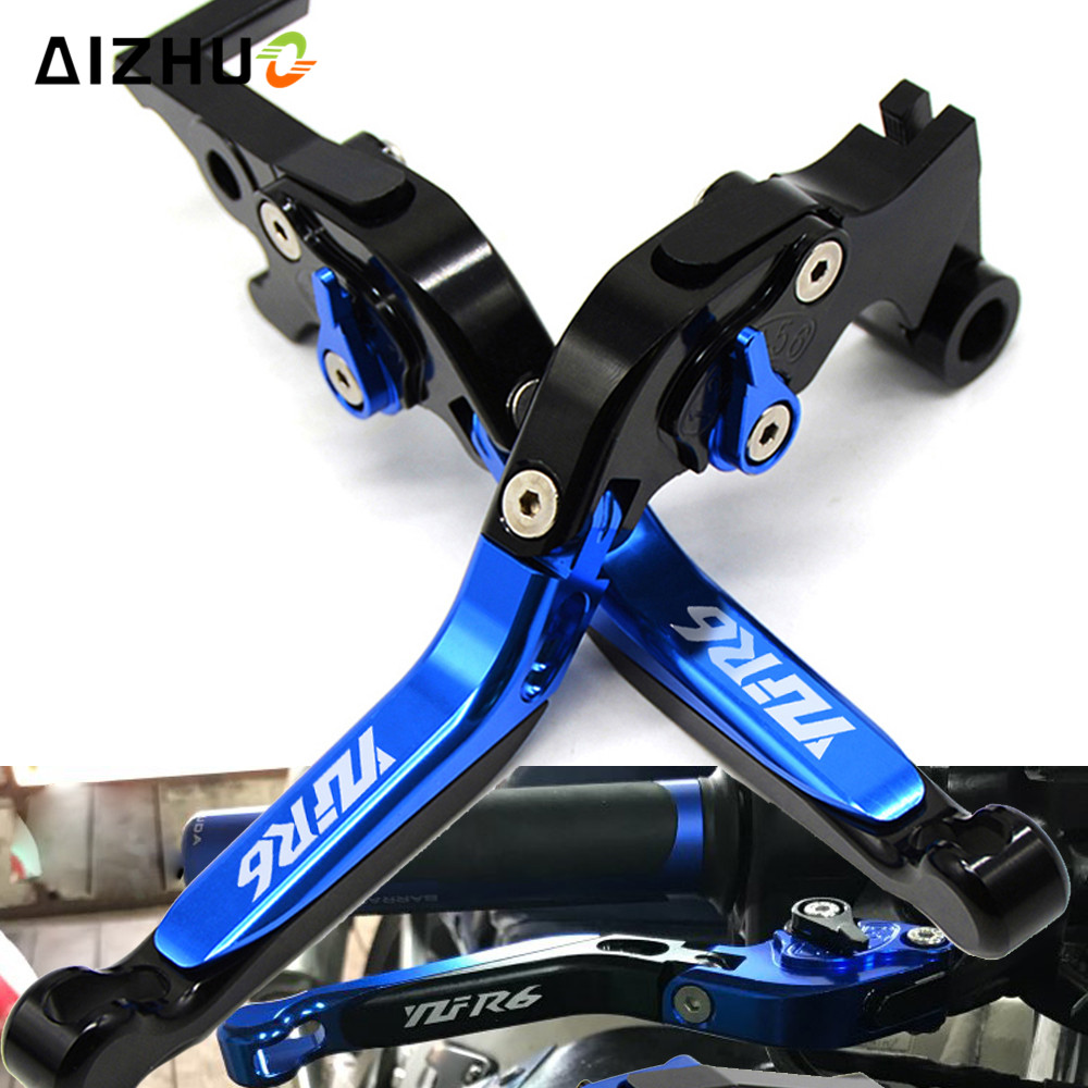 Motorcycle Brake Clutch Lever Folding Extendable For YAMAHA R6 YZF600 YZF R6 2005 2016 2006 2007