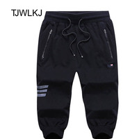 TJWLKJ Men Summer Casual Shorts Men Brand New Board Shorts Solid Breathable Elastic Waist Male Casual Short Men