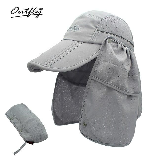 Marka szerokie rondo letnie słońce oddychająca ochrona przed promieniowaniem uv daszki kapelusz typu bucket ochrony przeciwsłonecznej rybak czapka wędkarska odpinany składana czapka