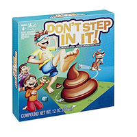 Don't STEP IN IT Stepping On The Dog Stool To Smash The Blindfolded Hi hat Game Children Spoof Fun Toys Students New Exotic Gift