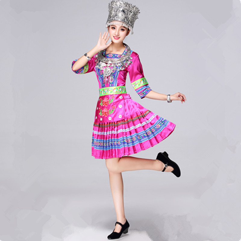 miao clothing children chinese minority costume festival dance costume for women