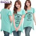 Emoción Mamás de Moda de manga Corta Ropa de Maternidad tops Lactancia Enfermería Top para Las Mujeres Embarazadas de Maternidad Del Verano T-shirt