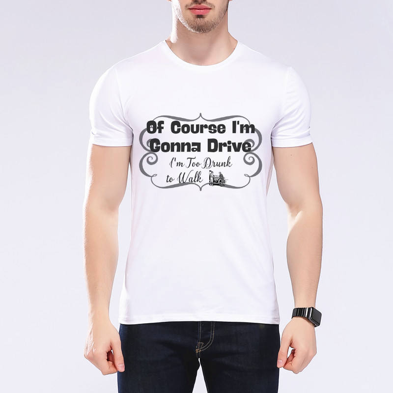 Mens Funny Text Printing Car Tshirt Fashion Retro Race Car Design T shirt Cool Tops Short Sleeve Tees Big Boy Clothing F6-14#