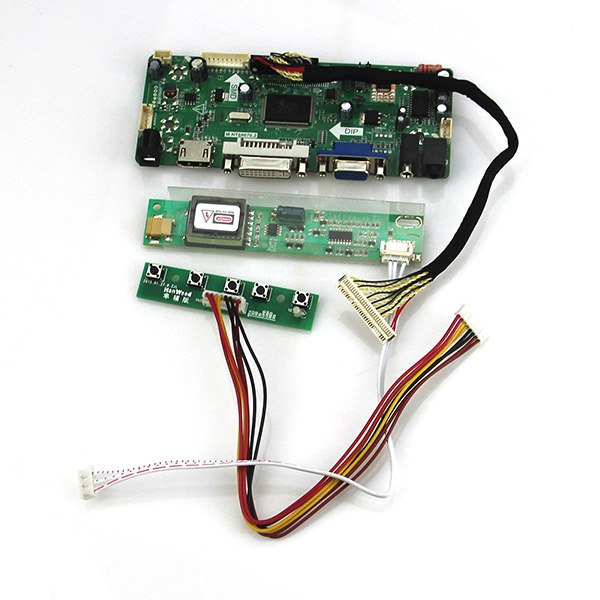 M.NT68676 LCD/LED Controller Driver Board (HDMI+VGA+DVI+Audio)  For B170PW06 LP171WP4-TLN1 TL02  1440*900