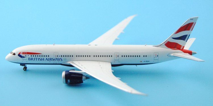 Fine Ge iniJets 1: 400 GJBAW1505 British Airways B787-8 G-ZBJC Alloy aircraft model Collection model Holiday gifts fine phoenix 1 400 11198 thai airways b787 8 hs tqb alloy aircraft model collection model holiday gifts