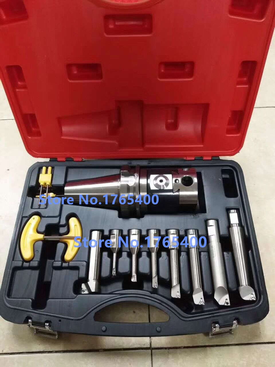Precision NBH2084 8-280mm Boring Head System+BT40 M16 Holder +8pcs 20mm Boring Bar Boring rang 8-280mm+30pcs boring inserts bt40 bsb90 180 handle thick knife rod bsb 90 degree coarse boring bar tool holder boring holder with square boring bit