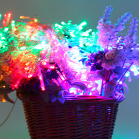 3 X 3M 300LED 220V Outdoor Holiday Decorative Light Beautiful LED Wedding Party Garden Decorative Curtain