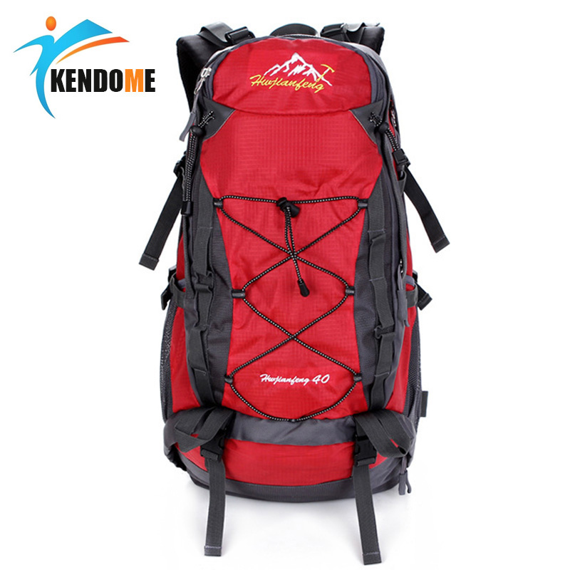 Hot hommes femmes 40L étanche escalade randonnée sac à dos Camping alpinisme sac à dos Sport en plein air sac à dos