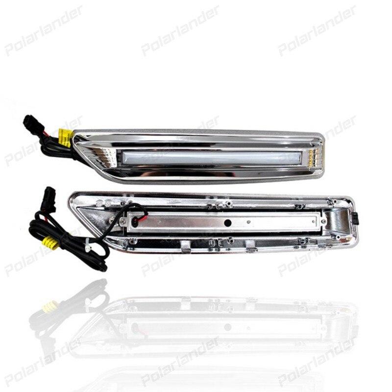 Hot selling Car Styling Parking Accessories Fog Lamp DRL Daytime Running Light for T/oyota R/AV4 DRL 2014-2015