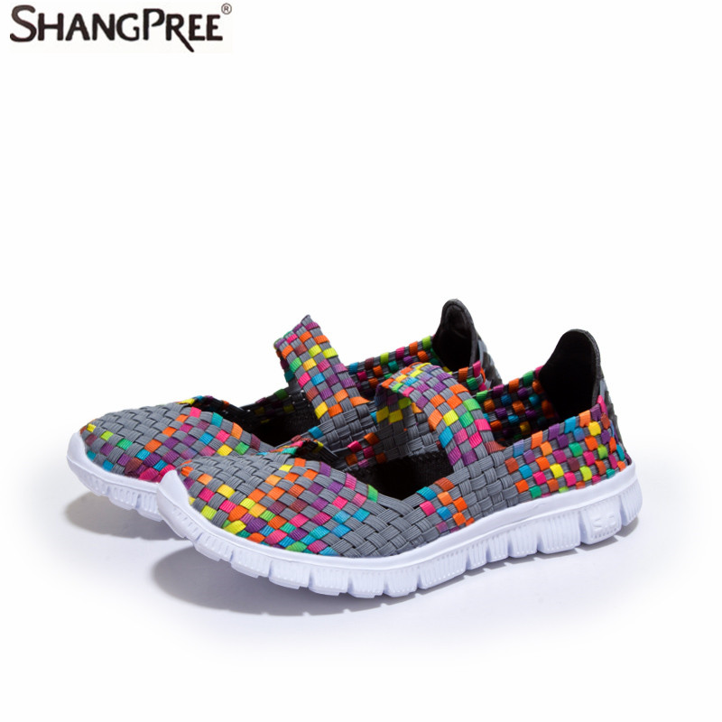 2017 Hot Women Casual Shoes Summer Breathable Handmade Women Woven mother Shoes Fashion Comfortable Women Shoes's women casual shoes 2018 summer cool breathable handmade female woven footwear fashion comfortable lightweight wovening sneakers