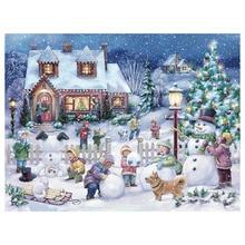 5D DIY Diamond Painting Christmas Embroidery Full Square Diamond Cross Stitch Mosaic Decor GiftXPZ bk last supper by leonardo da vinci diy diamond embroidery 3pcs 5d diamond painting full square cross stitch christmas decor z1097