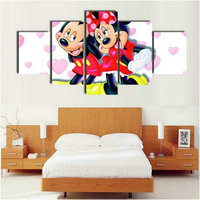5 spell painting cartoon 5d diy diamond painting Mickey Mouse couple full square castle home decoration 16 style