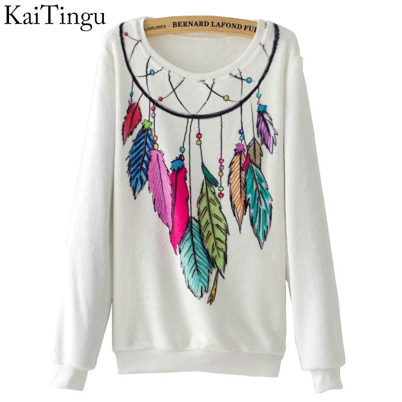KaiTingu Brand 2017 New Fashion Autumn Women Long Sleeve Flas