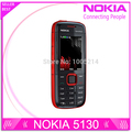 Refurbished Original Nokia 5130 XpressMusic Russian Keyboard Mobile Phone Musica Phone free shipping