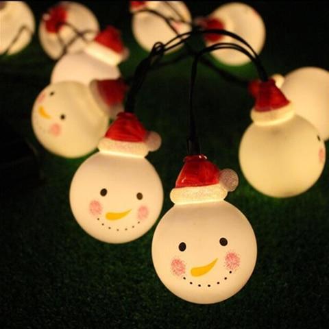 livre lampada solar com snowmen natal movido