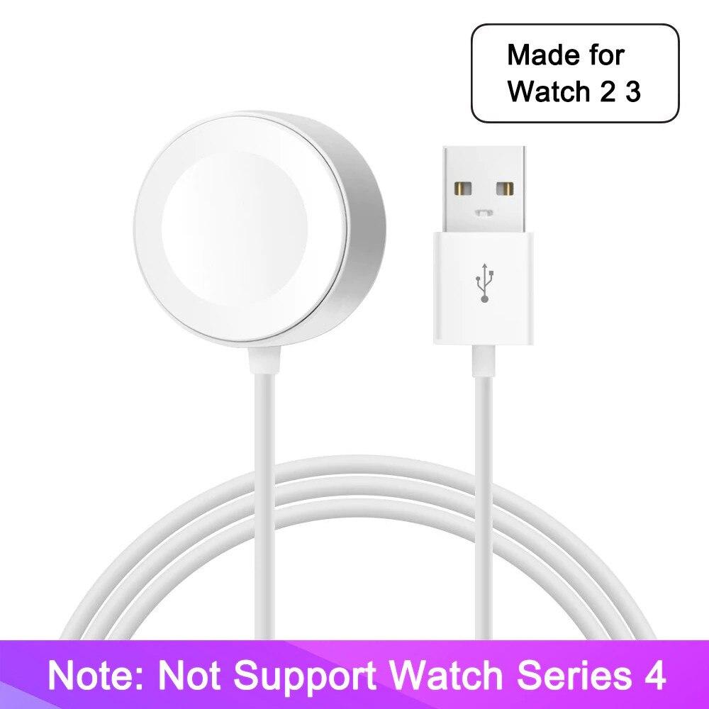 Vernuftig Draadloze Oplader Voor Horloge Serie 2 3 Usb Magnetische Horloge Oplaadkabel 3.3 Voeten/1 Meter Voor Apple Horloge Lader