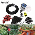 25m DIY Automatic Micro Drip Irrigation System Garden Self  Watering Kits with Adjustable Dripper #21025I