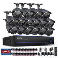 ANNKE 16CH AHD 1080N DVR 16 X 1200TVL 720P IR CUT CCTV Security Camera System