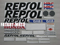 Bike motorcycle 2008 2009 2010 2011 2012 CBR1000RR CBR1000 RR REPSOL decal stickers