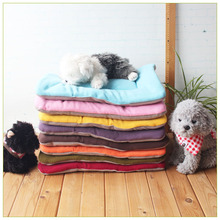 Winter Warm Dog Bed Soft Fleece Pet Blanket Cat Litter Puppy Sleep Mat Lovely Mattress Cushion for Small And Large Dogs 5 Size