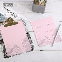NOOIT Planten Serie Memo pad met Clip board Memoblokjes map klembord schrijfbord kantoorbenodigdheden creatieve Briefpapier