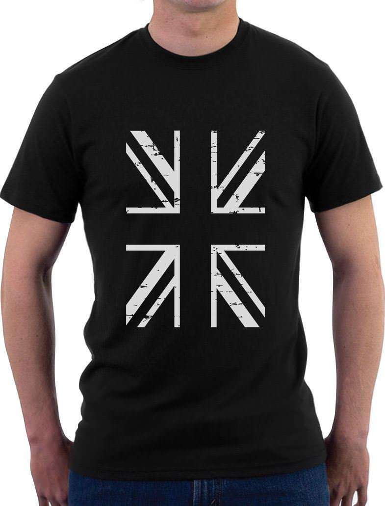 ad548ccdd82 Low Price United Kingdom Flag Vintage British Flag T-Shirt Retro Style