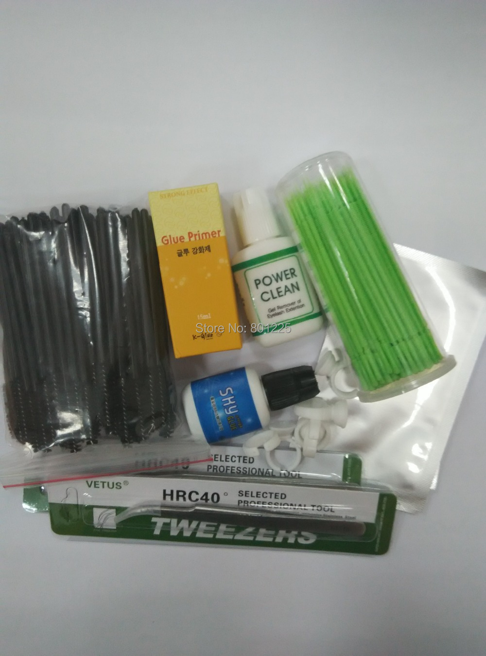 ФОТО Hot selling wholesale eyelash extension makeup tool kit