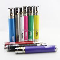 GS Ego II Twist battery 2200mah e cigarette carbon fibre battery ego vv battery 3.3V-4.8V variable voltage