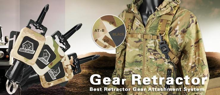 Delicious Tactical Gear Retractor Extension Within 10kg Breaking Strength Gear Retractor Gun Accessories Gz33-0081 Suitable For Men, Women, And Children