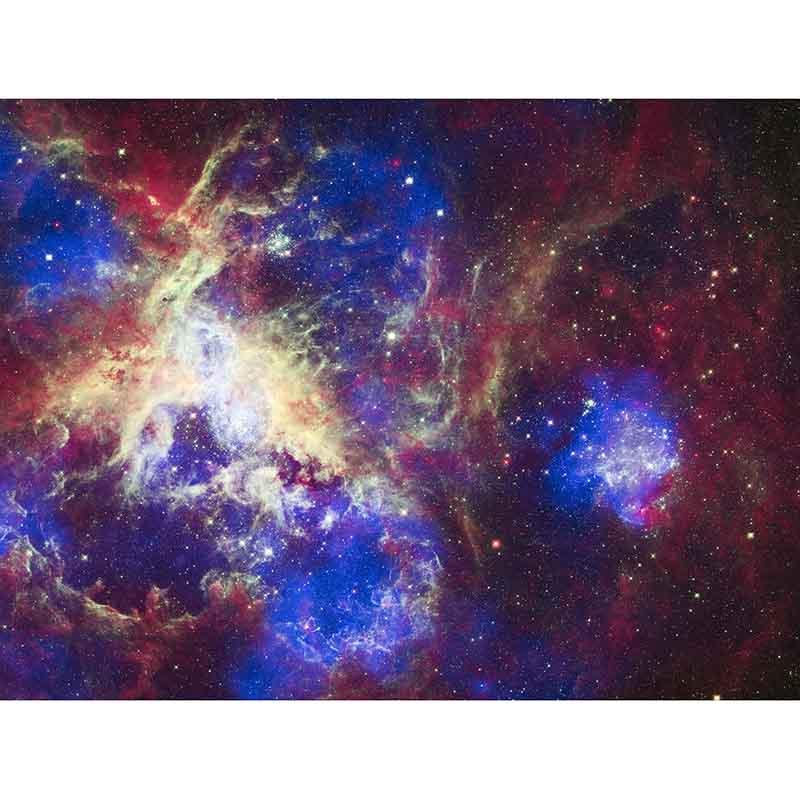 "5d Diy Diamant Schilderen Kruissteek Volledige Vierkante/ronde Boor ""tarantula Nebula"" 3d Diamant Borduurwerk Mozaïek Strass Decor"