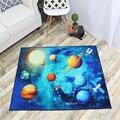 AOVOLL ковры и коврики для дома для гостиной с рисунком Голубой планеты ковер для детской комнаты детские коврики для комнаты