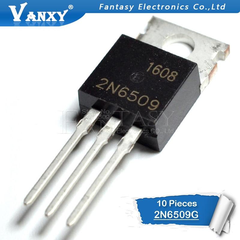 10PCS 2N6509G TO-220 2N6509 TO220 Transistor