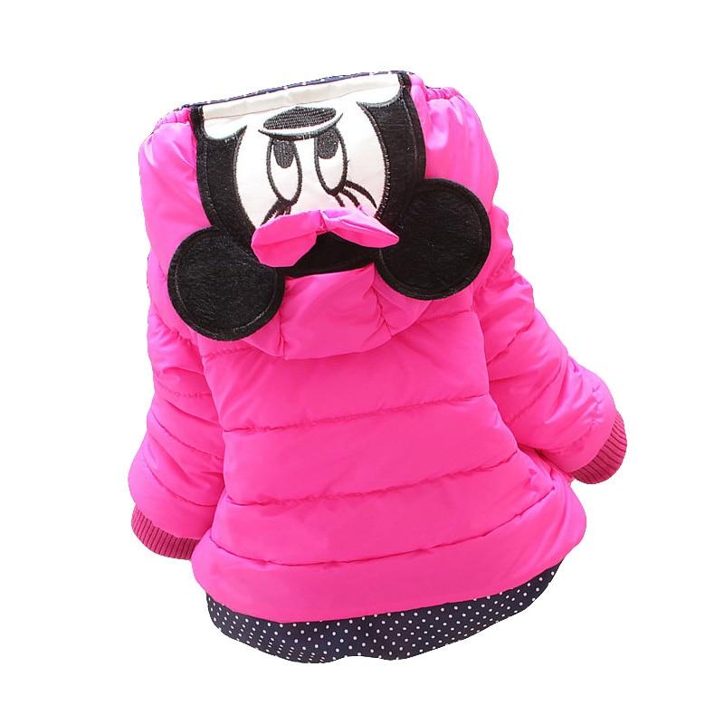 LZH Baby Girls Jacket 19 Autumn Winter Jacket For Girls Coat Kids Warm Hooded Outerwear Coat For Girls Clothes Children Jacket 34