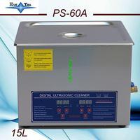 Neueste freies verschiffen 110V/220V JieTai PS 60A 40KHz Ultraschall Reiniger 15L mit freies korb-in Ultraschall-Reiniger aus Haushaltsgeräte bei