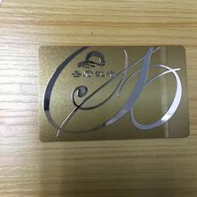 Sticker Business-Card Logo Metal for 3M Label Adhesive Customized Any-Design Hollow-Out