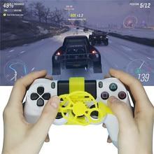 Mini volante para Sony PS4 DualShock 4 controlador de coche de carreras de repuesto controlador de volante accesorios adicionales