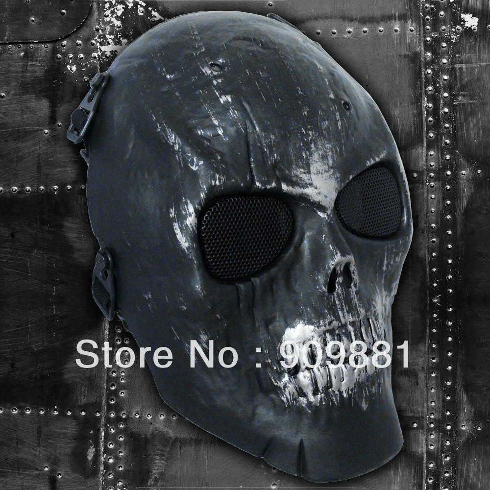 Aliexpress.com : Buy Skeleton Skull Bone Full Face Airsoft Mask ...