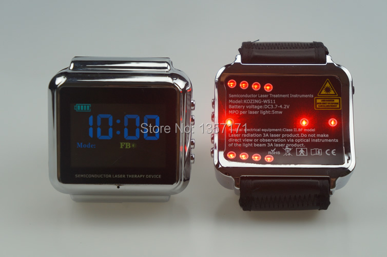 Cardiovascular and cerebrovascular diseases OEM & ODM LASER THERAPY WATCH
